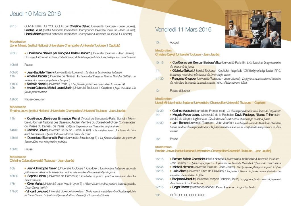 Discours, récits et représentations. Chronique judiciaire et fictionnalisation du procès-page-002