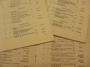 Lehrveranstaltungen Geschichte an der der Adolf-Reichwein-Hochschule Celle/Osnabrück 1952-1954 (Foto: Thorsten Unger)