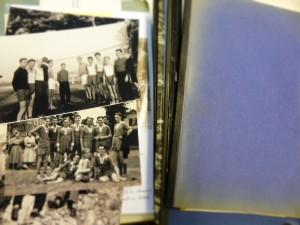 Fotos und Berichte aus den 1950er Jahren (Foto: Thorsten Unger)