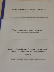 Vom Glashaus zum Schloss, Bde. 1-3