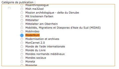 ModerNum - abonnement - 10
