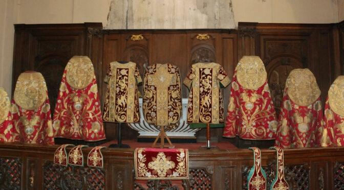 appel à financement – exposition «Habiller le culte. Les fastes du textile de la cathédrale de Tournai (XVIIIe SIècle)»