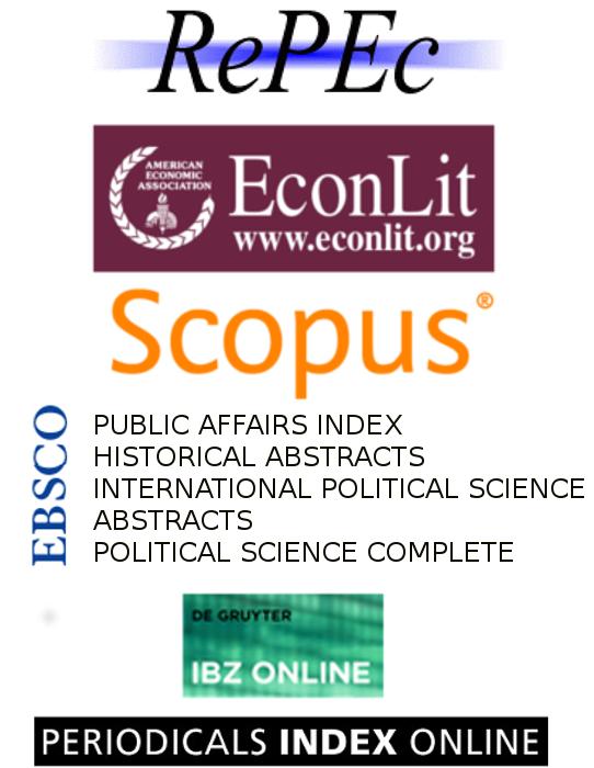 logos des bases de données où la revue est référencée