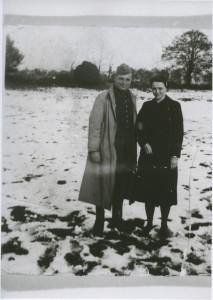 Jean Cavaillès avec sa sœur Gabrielle Ferrières