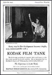 Kodak Film Tank, 1907
