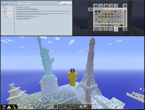 Figure 2_Minecraft Edu interface