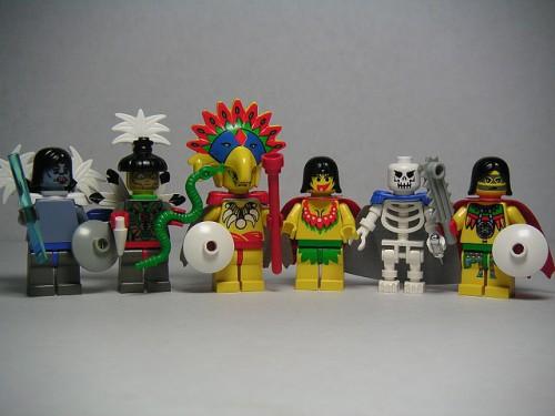 """""""Aztec Gods"""" von Andrew Becraft. CC-BY_NC_SA."""