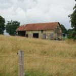 Bâtiment en torchis (Milly, 50), Août 2013. Cliché 127B