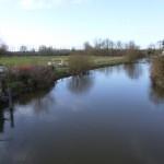 la Sélune au vieux pont amont (Ducey, 50), Février 2014