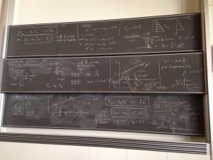 salle de cours de l'EPFL - Lausanne