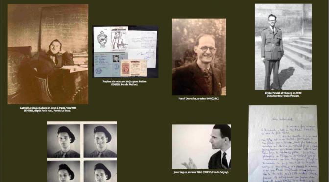 Archive(s) et recherche en sociologie des religions (II) : biographies croisées