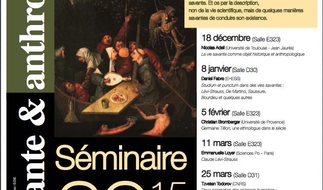 Le séminaire VISA 2015-2016