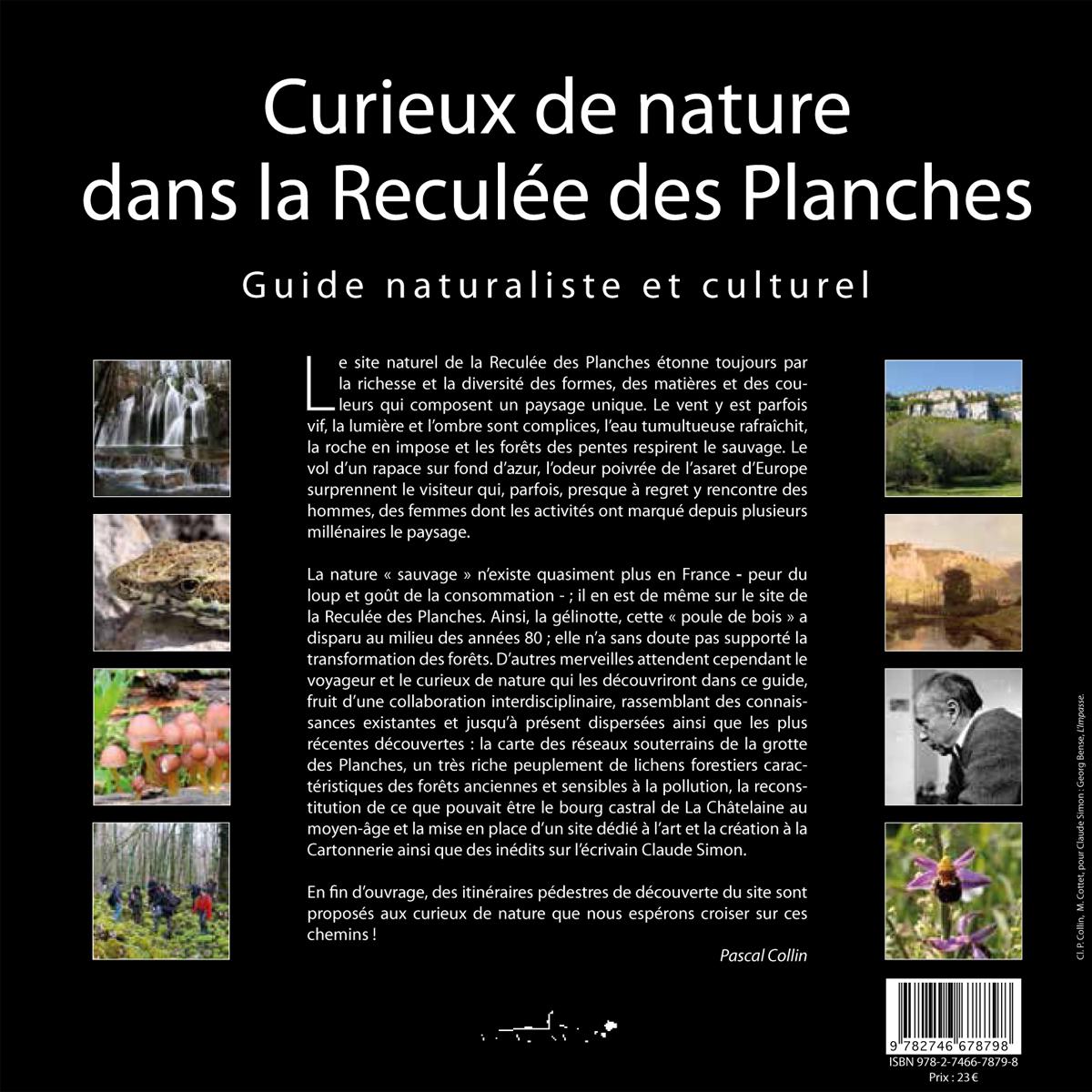 Curieux de nature - Dans la reculée des Planches - Couverture