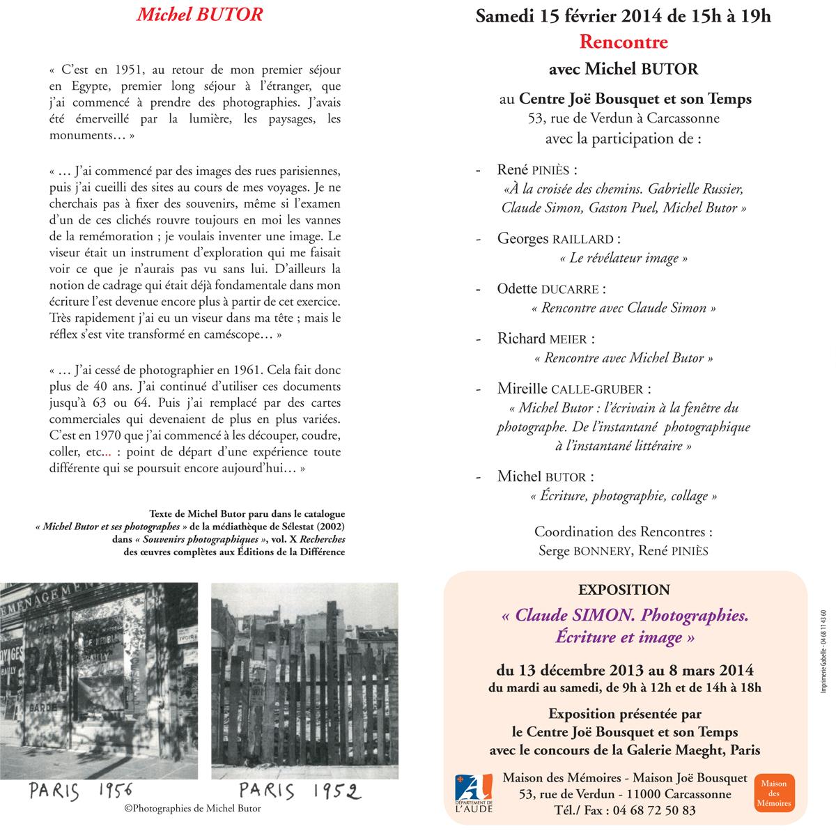 Rencontre avec Michel Butor - page 2