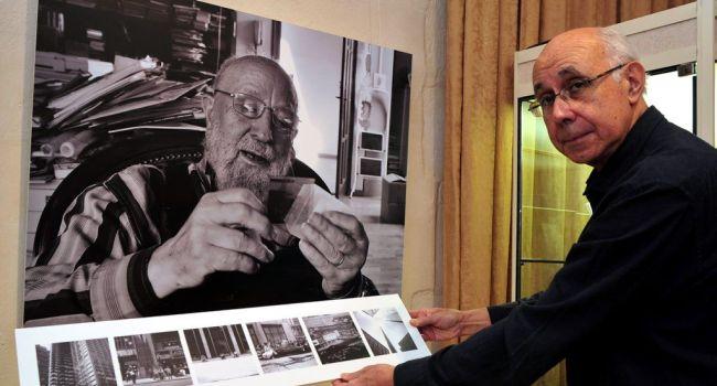 L'exposition conçue par René Piniès présente notamment des photos de Michel Butor./ Photo DDM, Jean-Luc Bibal.