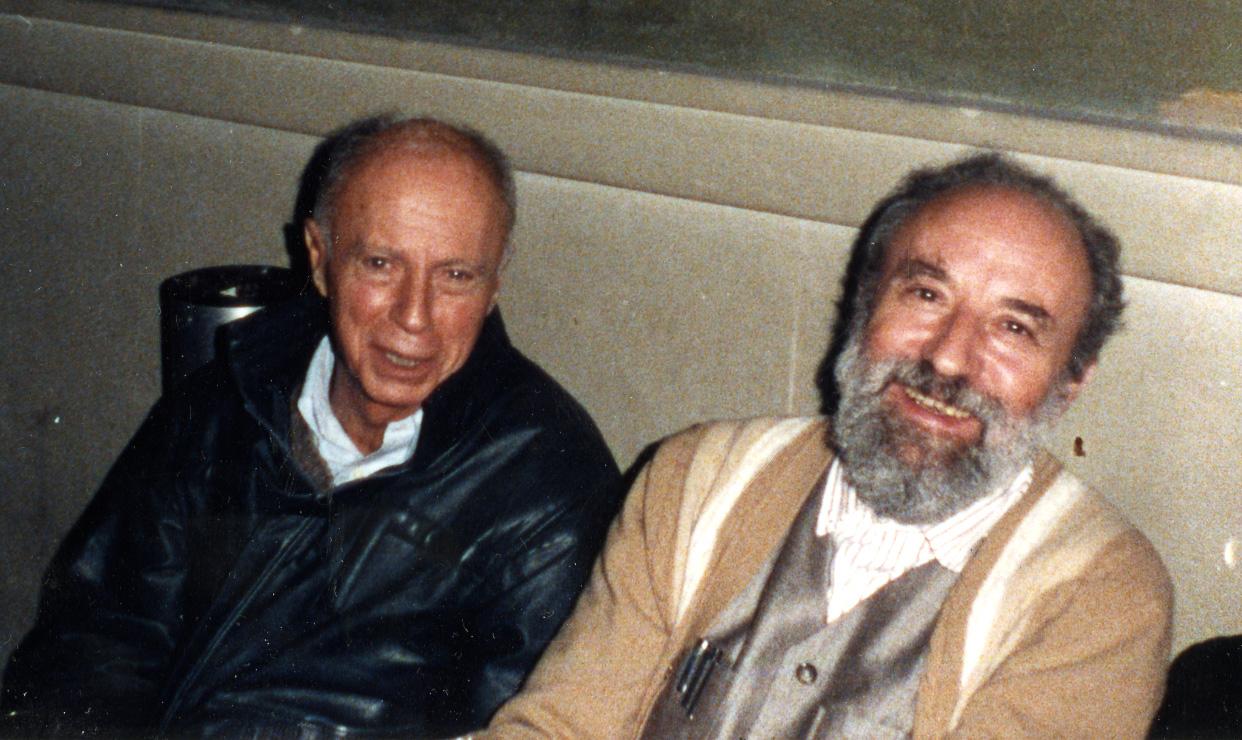 Claude Simon et Michel Butor, Genève 1986