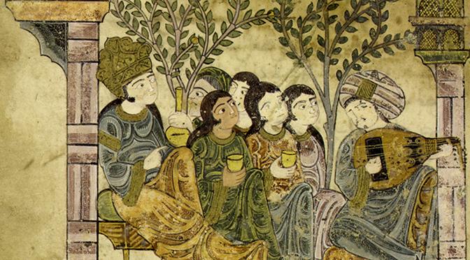 Prémisses et premiers développements de la peinture de manuscrits en terres d'Islam