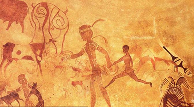 Les fresques du Tassili N'Ajjer et les traditions des Peul : nouvelles hypothèses d'interprétation