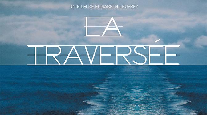 Projection en plein air du film La Traversée