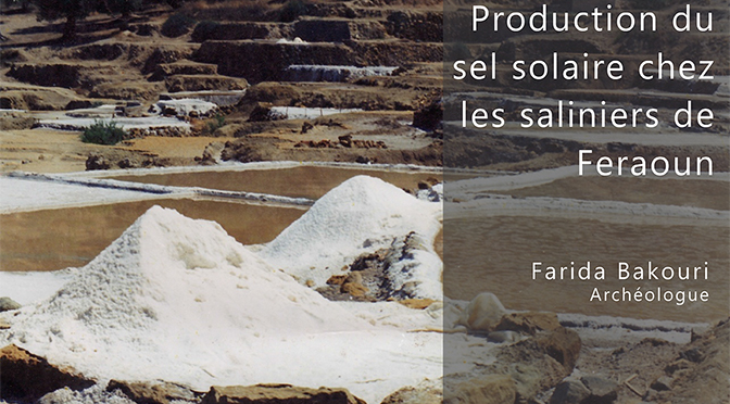 Production du sel solaire chez les saliniers de Feraoun – Béjaïa