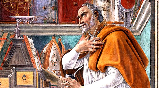 Journées d'étude, Augustin, témoin de la fin d'un monde