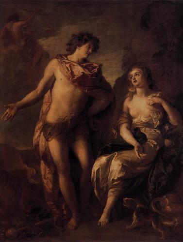 LA FOSSE, Charles de, Bacchus et Ariadne, c. 1669, huile sur toile, Dijon, Musée des Beaux Arts