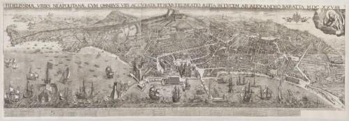 [Fig. 2] Alessandro Baratta, Vue de Naples, 1629, gravure, 85 x 253 cm, Paris, BnF.
