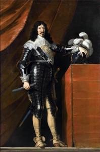Philippe de Champaigne, Portrait de Louis XIII, vers 1639, huile sur toile.