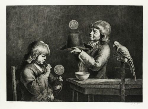 Bulles de savon, 1790