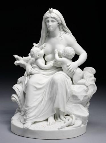 La Nature, 1794.biscuit de pâte dure, Londres, Victoria & Albert Museum.