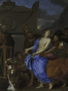 Charles Le Brun, Le Sacrifice de Polyxène, 1647, huile sur toile, 171 x 131 cm, New York, The Metropolitan Museum of Art