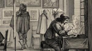 Abraham Bosse, L'atelier du graveur au burin et à l'eau-forte, 1643. © The Trustees of the British Museum.