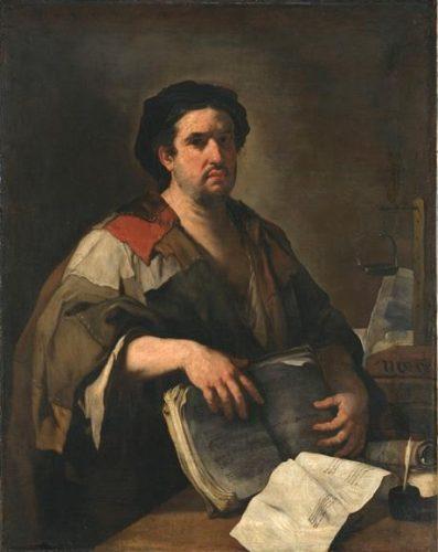 Luca Giordano, Philosophe cynique, XVIIe siècle, huile sur toile, 131 x 103 cm, Munich, Bayerische Staatsgemäldesammlungen