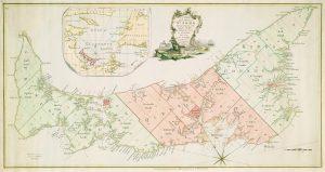 Samuel Holland's 1765 Survey and Map of St. John's Island (Prince Edward Island)