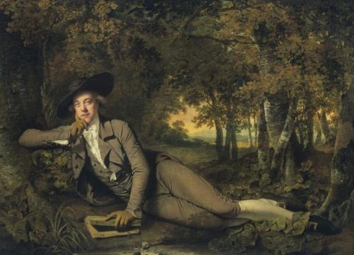 Joseph Wright of Derby, Sir Brooke Boothby, 1781, toile, 148 x 207 cm, Londres, Tate Collection.