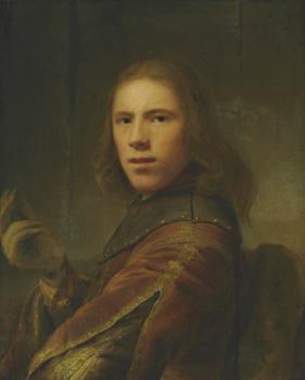 Ferdinand Bol, Portrait d'un jeune homme, vers 1640, huile sur toile, 67 x 53,7 cm