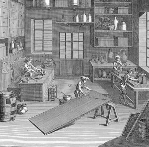 L'Encyclopédie ou dictionnaire raisonné des sciences, des arts et des métiers sous la direction de Denis Diderot et Jean le Rond d'Alembert ©Claude Yvel
