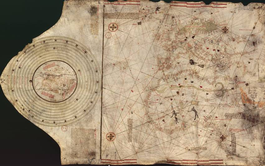 Portulan dit de C. Colomb