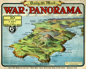 F. de Montety - War Panorama- Daily Mail copy