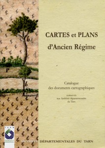 Cartes_ Plans_catalogue  AD Tarn