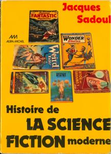 Couverture de la première édition de l'Histoire de la science-fiction moderne (1973)