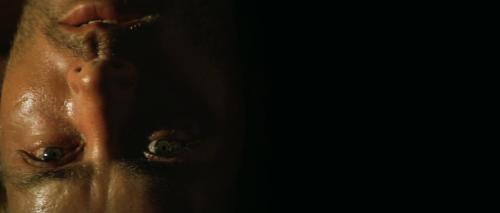Première image de Willard, à l'envers, symbolisant son trouble