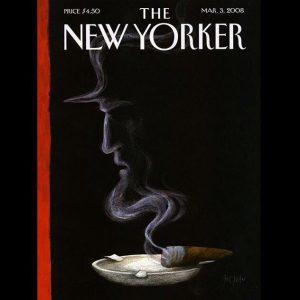 Une du New Yorker en 2008