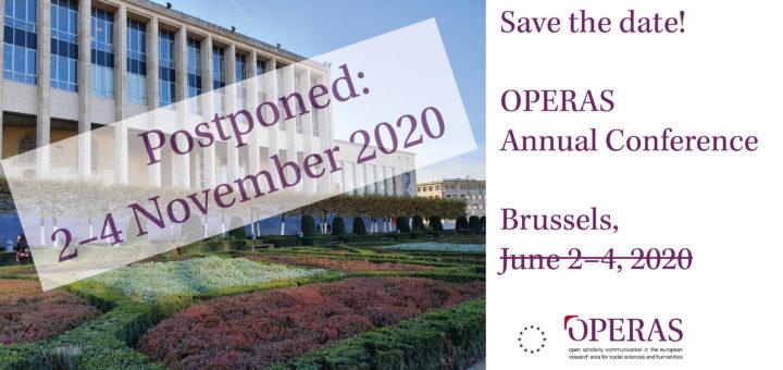 Conference Postponed