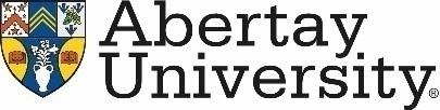 TRIPLE partner logo - Abertay University