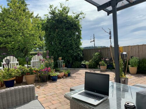 Outside working space