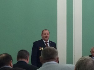 Valerii KIselev, Military writers association meeting, Moscow, 20 February 2015