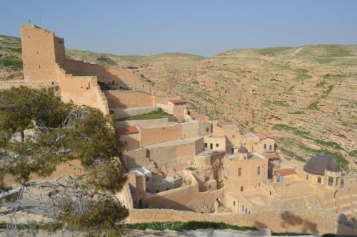 Kloster Mar Saba im Kidrontal