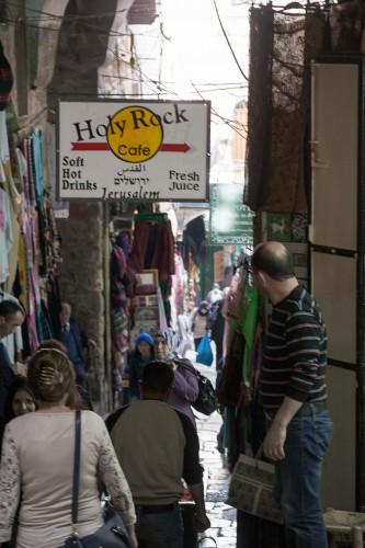 "In Jerusalem ist nahezu alles ""heilig"". (Foto: Benedict Schöning)"