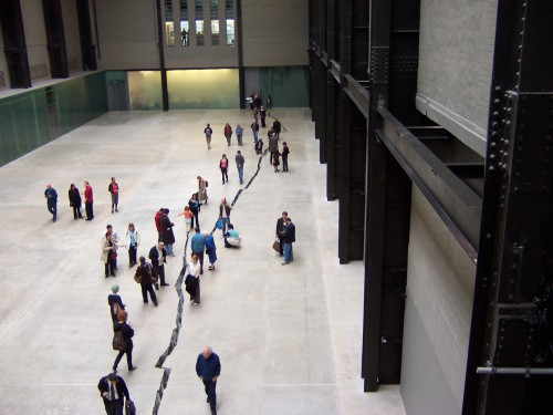 Doris Salcedo: Shibboleth, Tate Modern, London 2008